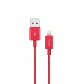 Moshi - Integra Lightning-USB cable (crimson red)