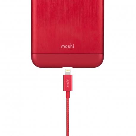 Moshi - Integra Lightning-USB cable (crimson red)