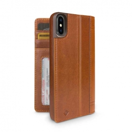 twelve south - Journal iPhone XS Max (cognac)