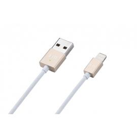 Just Mobile - AluCable LED USB-Lightning (gold)