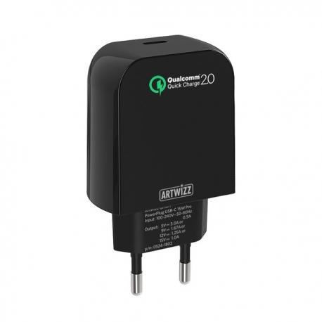 Artwizz - PowerPlug USB-C 15W Pro (black)