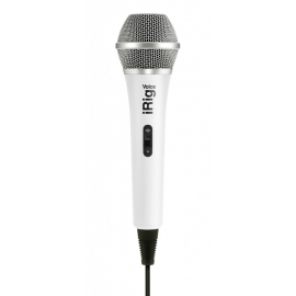 IK Multimedia - Microfone iRig Voice (white)