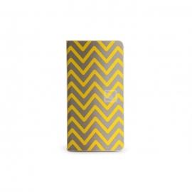 Tucano - Leggero Zigzag iPhone 6/6s (yellow)
