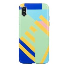 Tucano - Mendini Shake iPhone XS Max (blue)