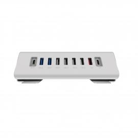 Macally - Hub USB-C (7x USB-A + 2x USB-C)