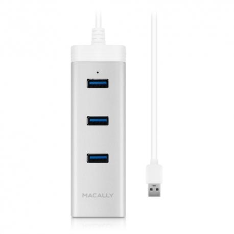 Macally - U3HubGBA (3x USB3 + Gigabit Ethernet)