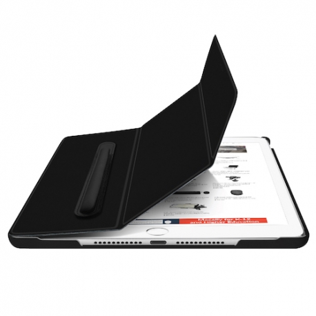 Macally - BookStand + Pen Holder iPad 10.2'' (black)