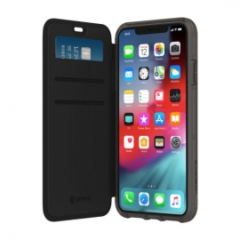 Griffin - Survivor Clear Wallet iPhone XS Max (black/clear)