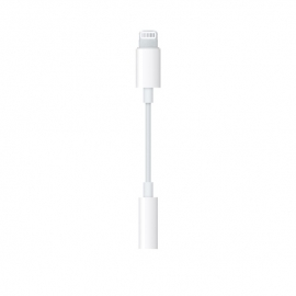 Apple - Adaptador Lightning - mini-jack
