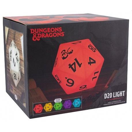 Candeeiro Dungeons & Dragons - D20 Dice