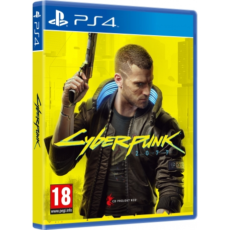 yberPunk 2077 - Day One Edition PS4