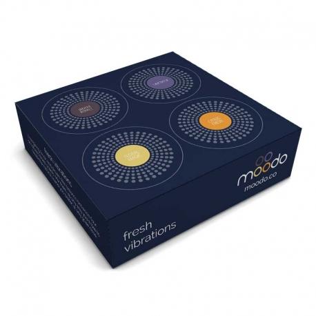 moodo - Smart Aroma Diffuser Capsules 4x (Fresh Vibrations)