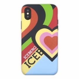 Iceberg - Soft Case iPhone X/XS (heart)