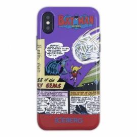Iceberg - Soft Case Comics iPhone X/XS (batman)