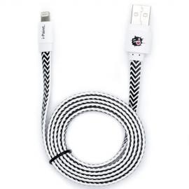 i-Paint - Cabo flat Lightning-USB (waves)