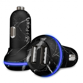 i-Paint - Fast Car Charger 3.1A (marble)