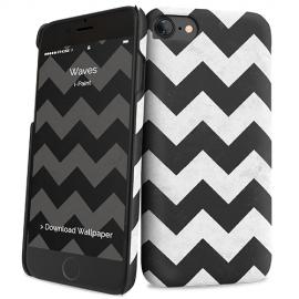 i-Paint - Hard Case iPhone SE/8/7 (waves)