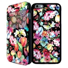 i-Paint - Double Case iPhone 6/6s (black flower)
