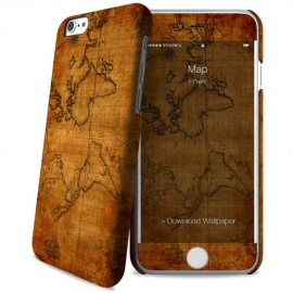 i-Paint - Hard Case+Skin iPhone 6/6s (map)