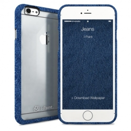 i-Paint - Ghost Case iPhone 6/6s (jeans)
