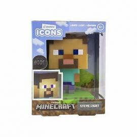 Candeeiro Minecraft: Steve