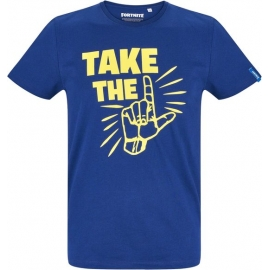 T-Shirt Fortnite Azul - Take the L