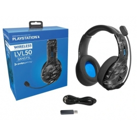 Headset PDP Gaming LVL50 Wireless - Black Camo