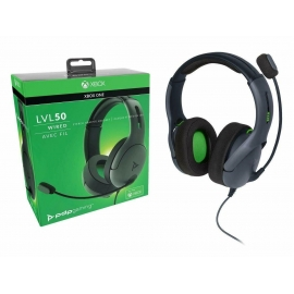 Headset PDP Gaming LVL50 Wired - Grey Xbox One