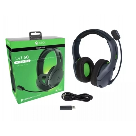 Headset PDP Gaming LVL50 Wireless - Grey Xbox One