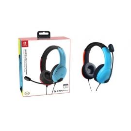 Headset PDP Gaming LVL40 Wired - Vermelho e Azul