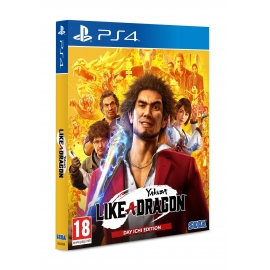 Yakuza: Like a Dragon - Day Ichi Steelbook Edition PS4/PS5 (Upgrade PS5 Gratuito)
