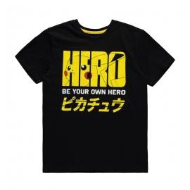 T-Shirt Pokémon - Pika Hero