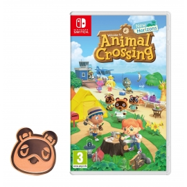Animal Crossing: New Horizons Switch - Oferta Pin