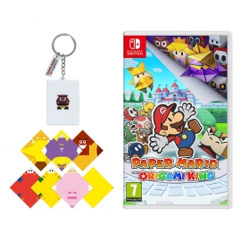Paper Mario: The Origami King Switch - Oferta Porta-Chaves + Origami