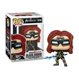 POP! Bobble-Head Marvel: Avengers Gameverse - Black Widow (Stark Tech Suit) 630