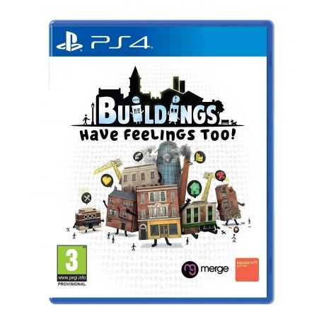 Buildings Have Feelings Too! PS4