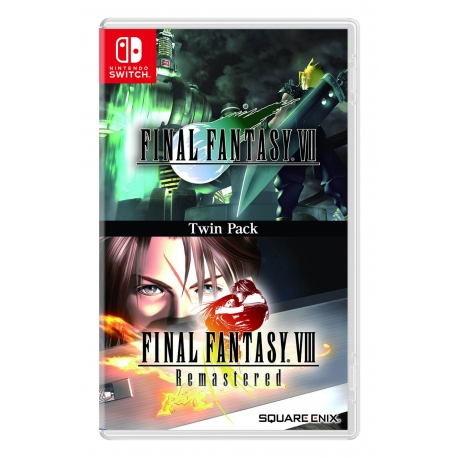 Final Fantasy VII & Final Fantasy VIII Remastered Twin Pack Switch