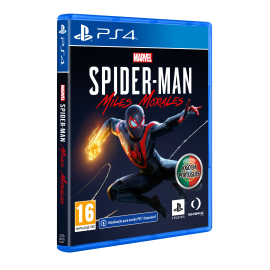 Marvel's Spider-Man: Miles Morales (Totalmente em Português) PS4  - Oferta DLC (Upgrade PS5 Gratuito)