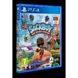 Sackboy: Uma Grande Aventura (Totalmente em Português) PS4/PS5 - Oferta DLC (Upgrade PS5 Gratuito)