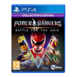 Power Rangers: Battle for the Grid - Collector's Edition (Seminovo) PS4