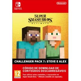 Super Smash Bros. Ultimate: Steve & Alex Challenger Pack 7 Switch (Nintendo Digital)