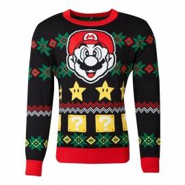 Camisola de Natal Nintendo - Super Mario