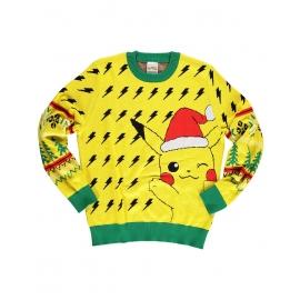 Camisola de Natal Pokémon - Pikachu