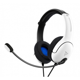 Headset PDP Gaming LVL40 Wired - Branco - PS4/PS5