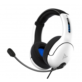 Headset PDP Gaming LVL50 Wired - Branco - PS4/PS5