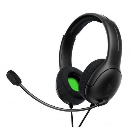 Headset PDP Gaming LVL40 Wired - Preto - Xbox One/Xbox Series X