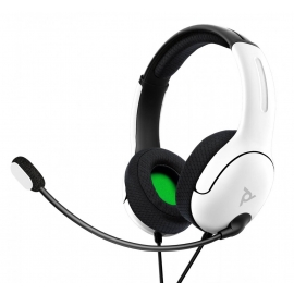 Headset PDP Gaming LVL40 Wired - Branco - Xbox One/Xbox Series X