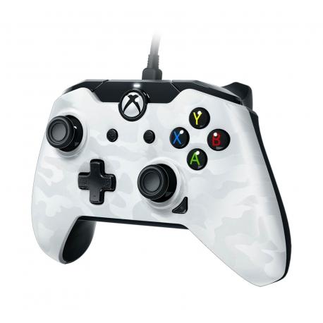 Comando PDP Wired White Camo - Xbox One