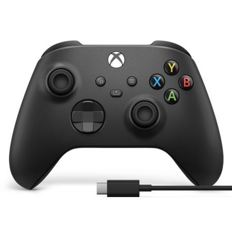 Comando Sem Fios Xbox Series X|S + Cabo USB-C®