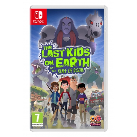The Last Kids on Earth and the Staff of Doom Switch